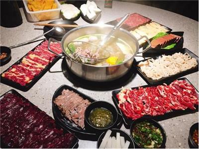 吃大龙牛肉火锅 享受百味涮的鲜