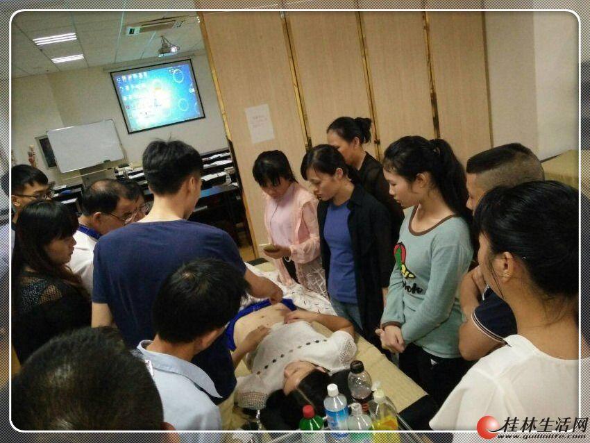 桂林市2017排名第一的正规专业针灸推拿技能培训学校学费详情