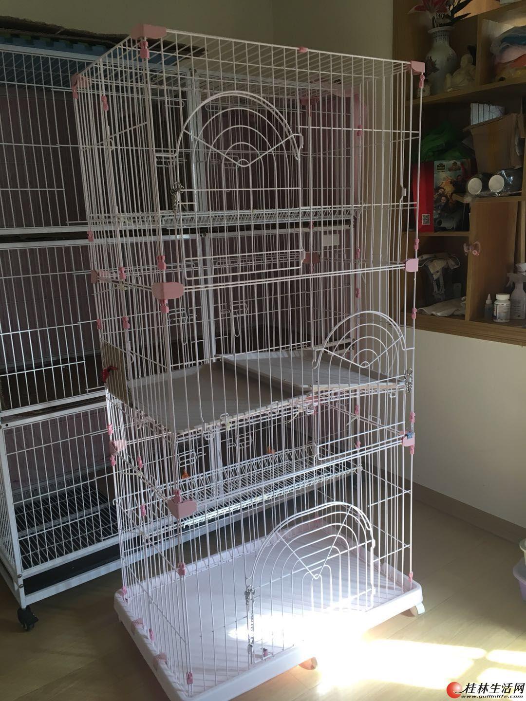 出售9.5成新猫笼。狗笼