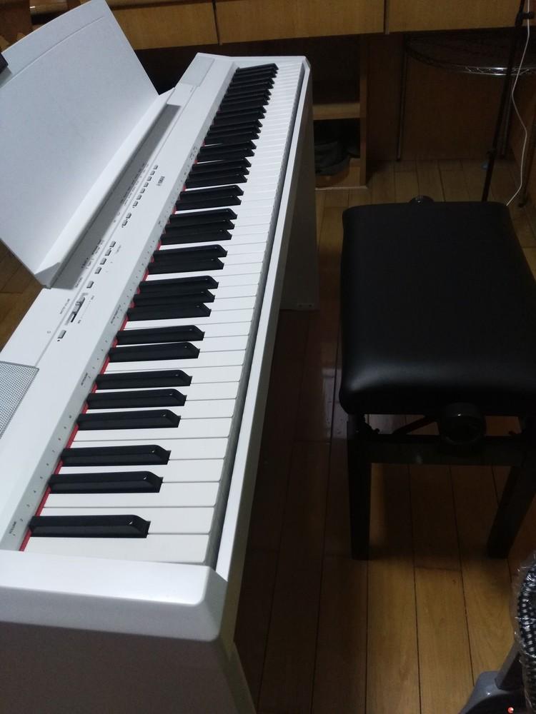 转让  雅马哈电钢琴P-115B P115WH专业演奏88键重锤智能电子数码钢琴