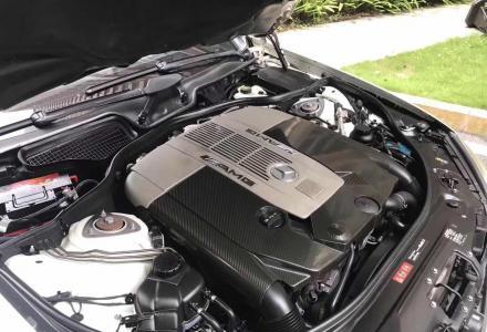 12款奔驰S65 AMG、白色米内