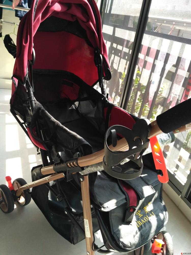 95成新只用了3个多月婴儿推车,可坐可躺折叠婴儿车便携式车四季通用儿童手小推