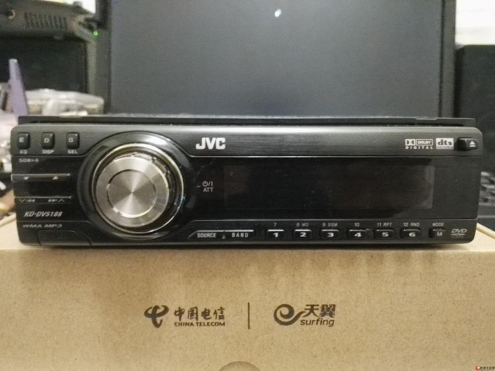 便宜出日本JVC DVD/CD一体高端汽车音响主机