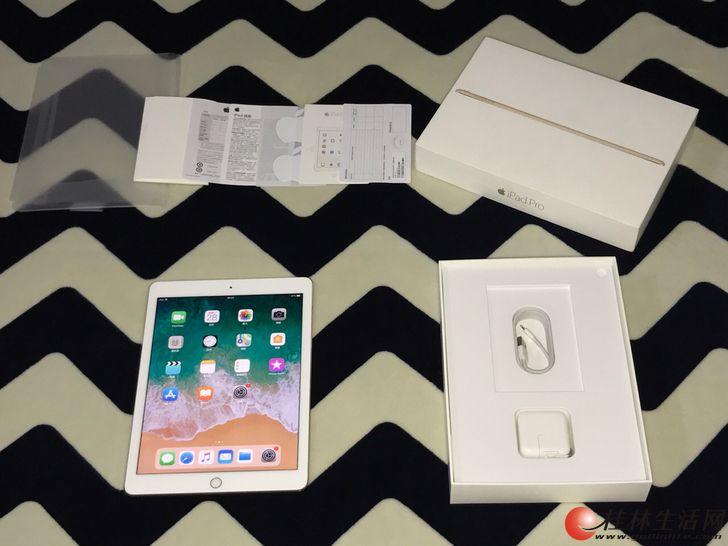 国行iPad pro 土豪金128G 四个喇叭效果震撼