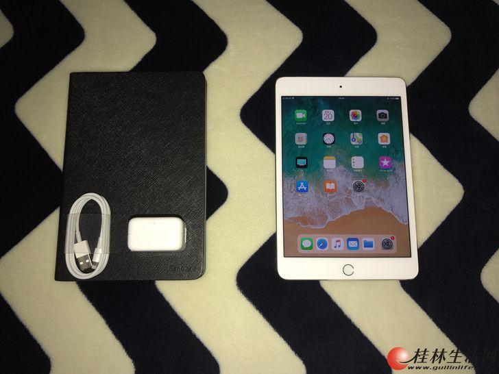 美版iPadmini4 金色16G 插卡全网4G手游、外出必备