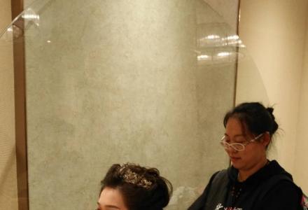 桂林哪里化新娘妆好 第六感国际化妆师为您提供高端服务