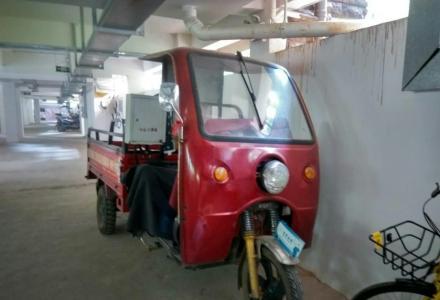 急转水冷150排量燃油三轮车: