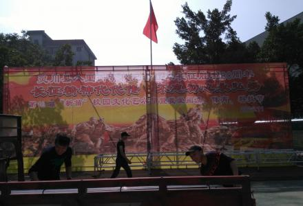 舞台搭建、 桁架舞台背景制作
