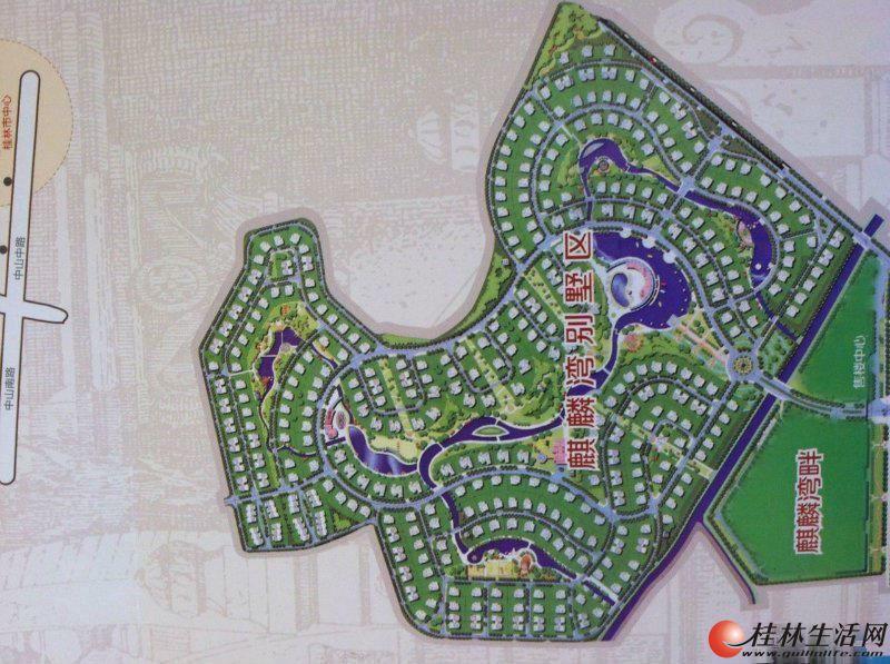 占地370平米 独栋别墅 麒麟湾大花园 独栋 仅220万