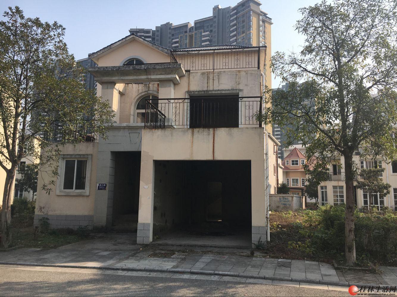 W山水凤凰城独栋大别墅占地480平方产权318平方售价248万