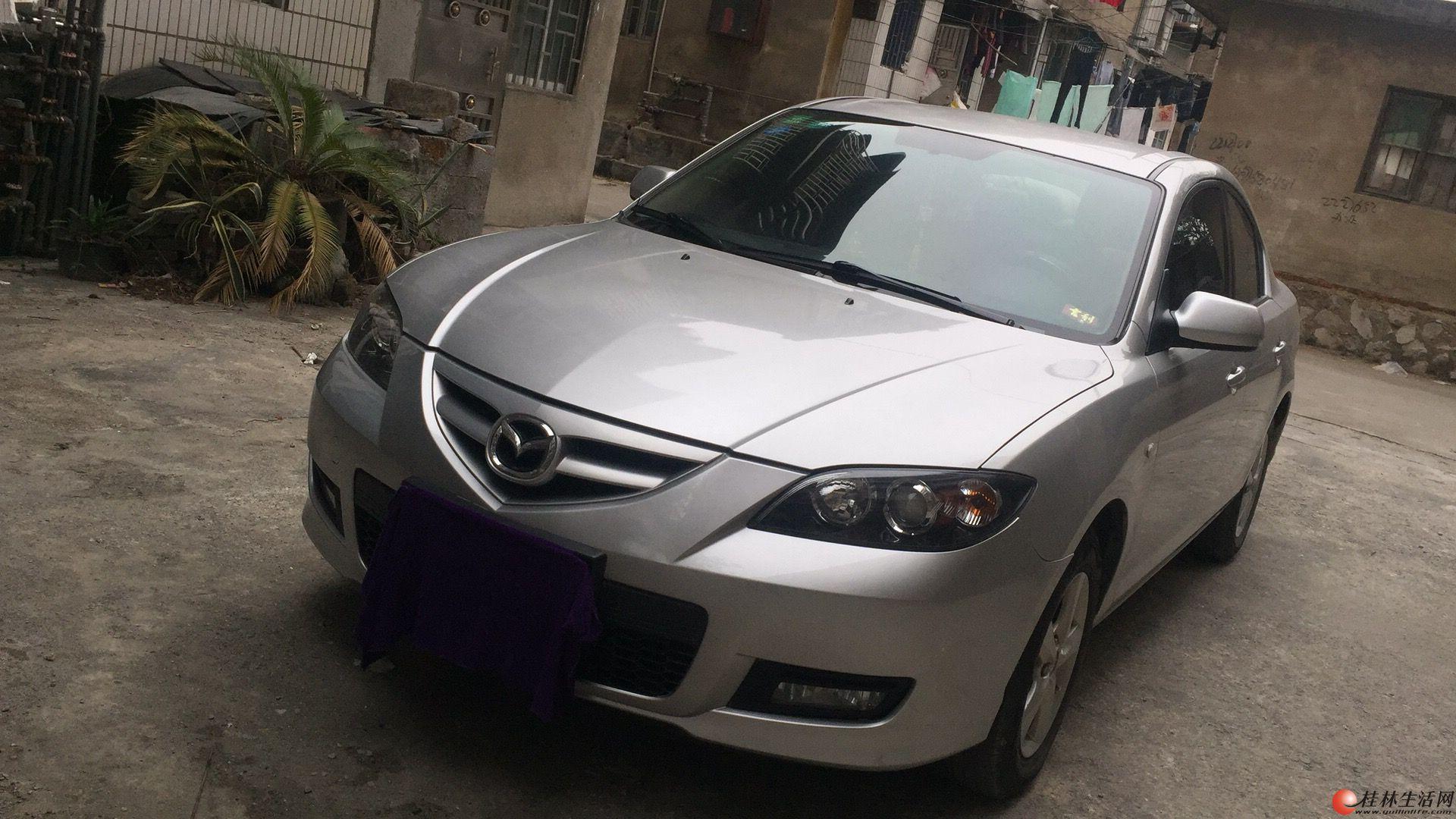 私家车 2011年 银色 马自达3 手动档