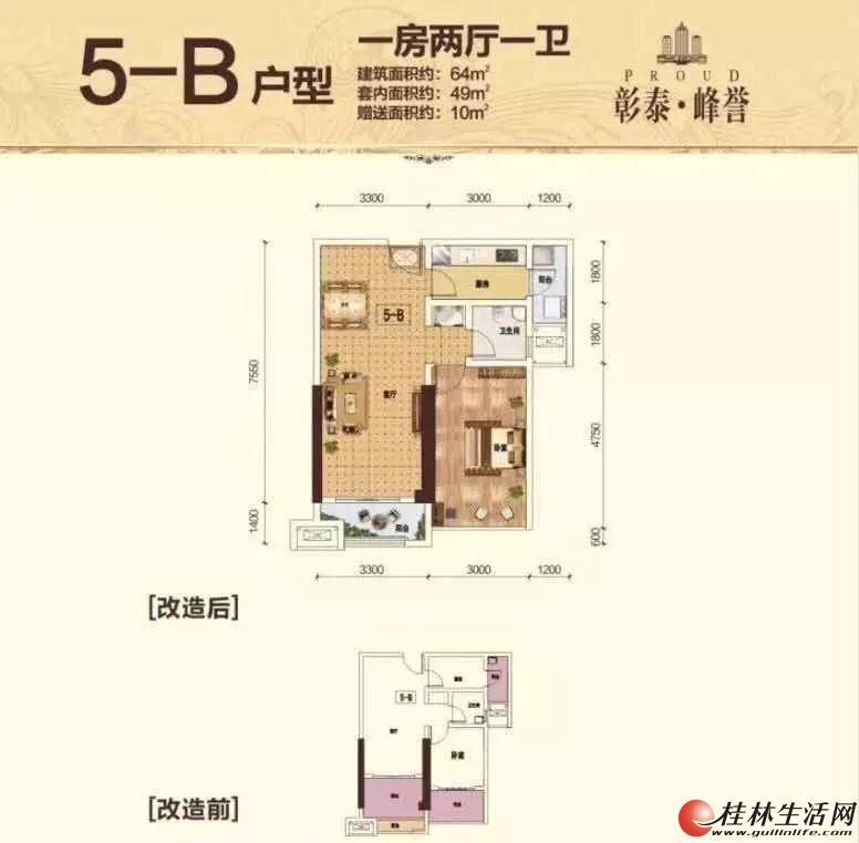 重磅 首付只要6万 买 彰泰峰誉70年产权酒店公寓总价27万