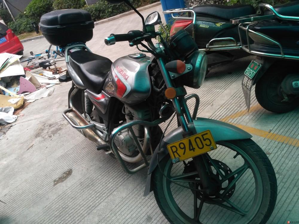 豪爵铃木EN125-2A摩托车转让