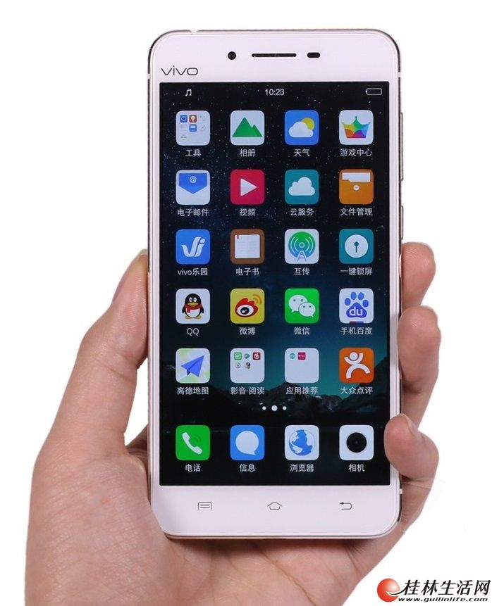 95成新,vivo高端商务手机,4G+32G,极致超薄美颜神器