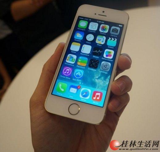 自用苹果5s16g,土豪金,移动联通双4G