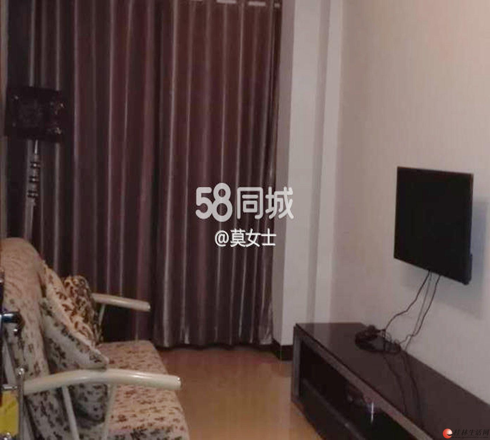 耀和荣裕小区翠竹路,青禾美邦附近,1房1厅50平方米,电梯楼1600元/月精装修家电家具