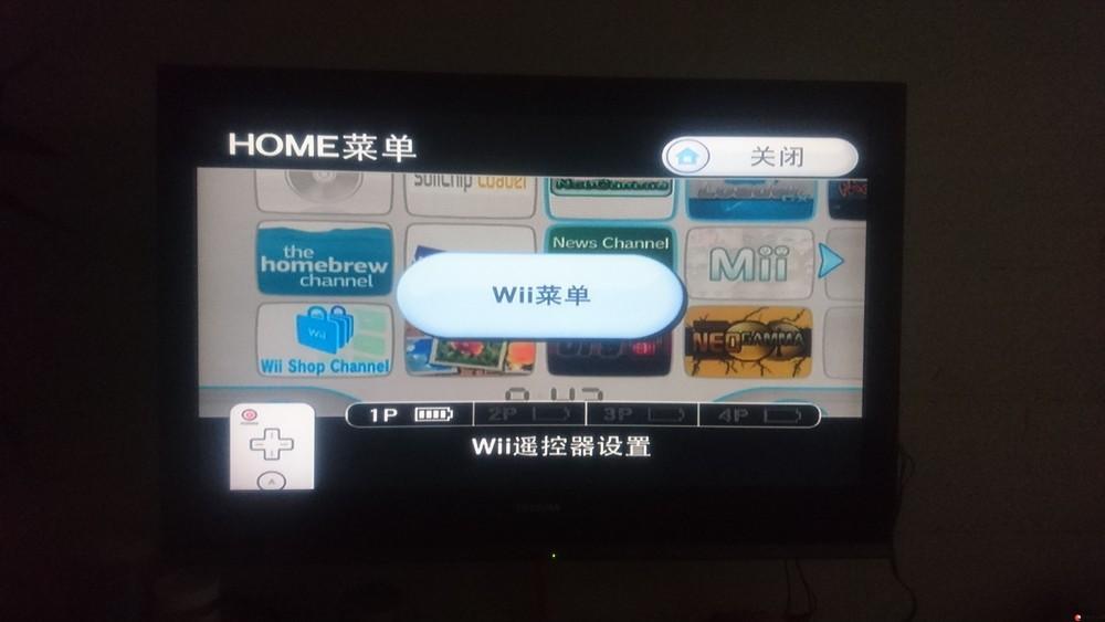 任天堂wii游戏机白色