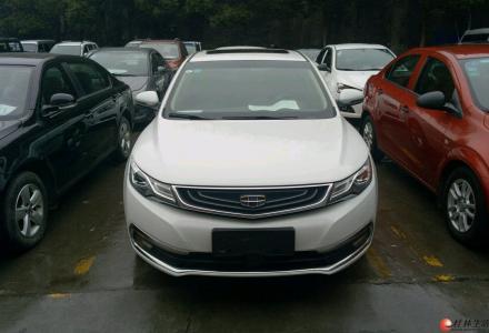 桂林二手车吉利汽车 帝豪GL 2017款 1.3T 自动 尊贵型