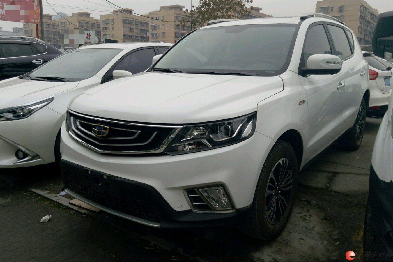 广西二手车吉利汽车 远景SUV 2016款 1.3T 自动 旗舰型