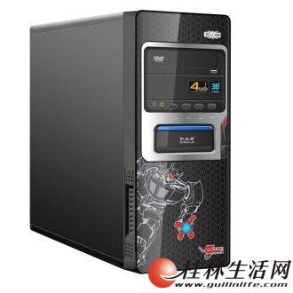 玩游戏电脑主机,台式机内存4G,TC 2G独显,160G硬盘