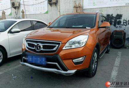 广西桂林二手车北汽绅宝 绅宝X65 2015款 2.0T 自动 精英版