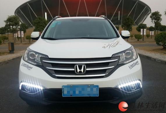 本田CRV  首付2万5 身份证驾驶证当天提车