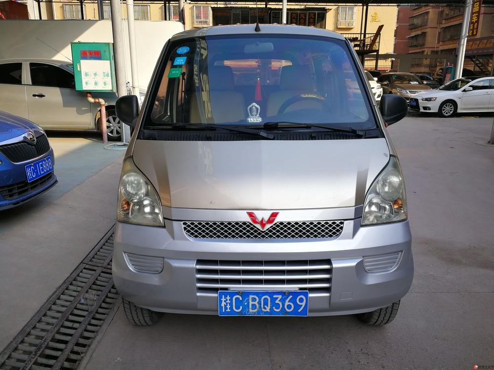 2012年五菱荣光1.2L手动8座本地一手私家车