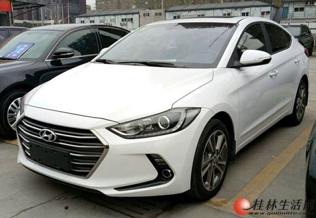 广西桂林二手车现代 领动 2016款 1.6 自动 智炫精英型