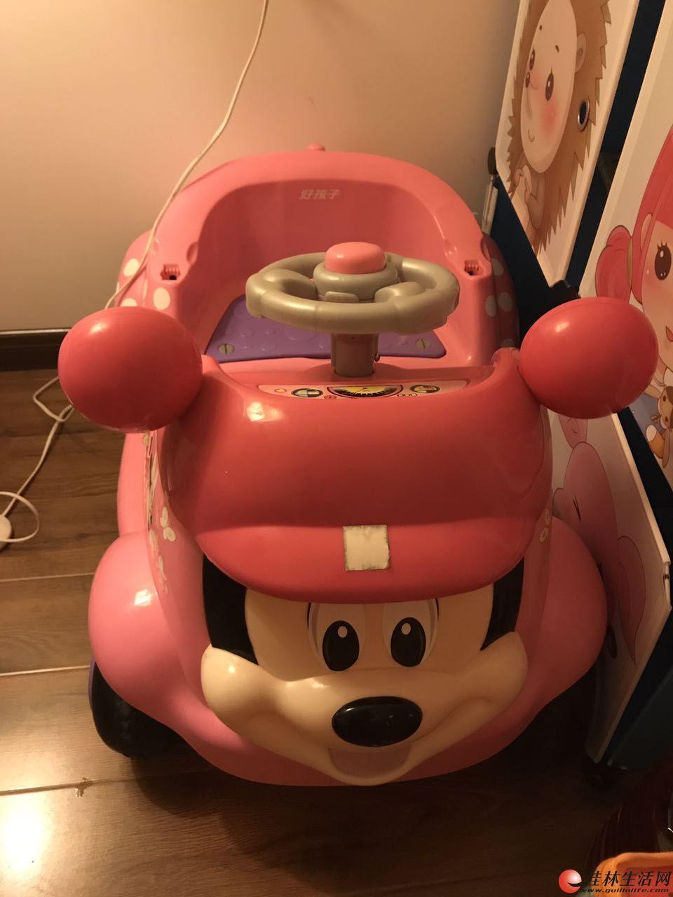好孩子米老鼠遥控汽车