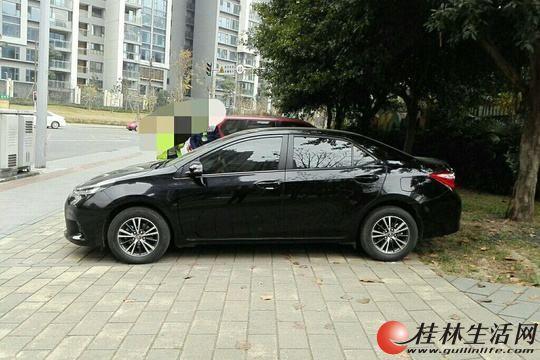 新车丰田雷凌自动档黑色轿车陪练、用车、婚庆服务,20年老司机经验丰富