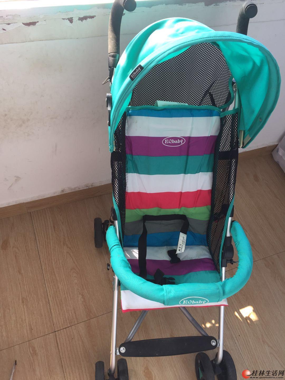 EQbaby婴儿推车超轻便伞车可折叠避震手推车便携