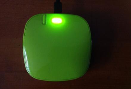 乐泡月光石6000毫安绿色-红色