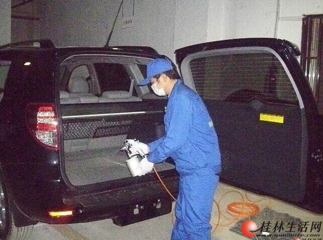 桂林新车专业除甲醛 除异味