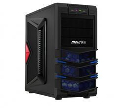 全新四核游戏电脑,主机4G内存,500G硬盘,高端2G独显