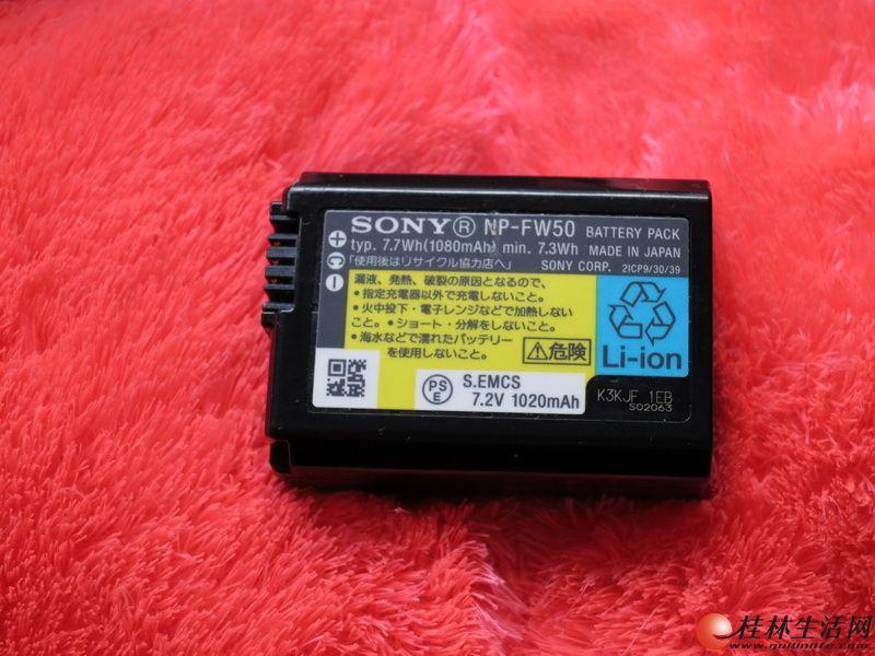 索尼a5000 a5100 A6000 NEX-5T 6 7 a7r微单相机电池充电器转让
