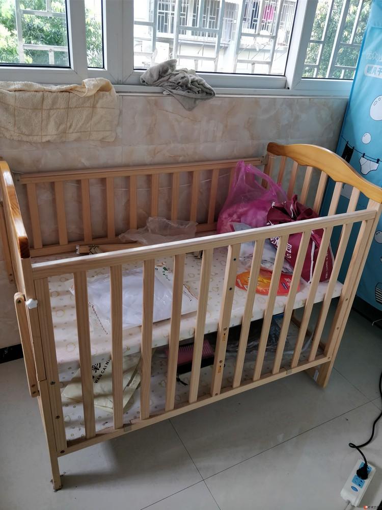 婴儿床,买来一直都未用,全新