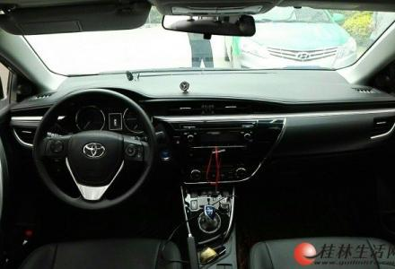 丰田卡罗拉 2016款 双擎 1.8L CVT领先版