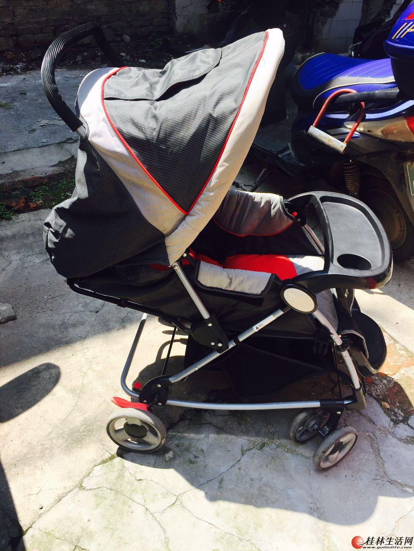 低价转让gb好孩子婴儿推车可坐可躺折叠宝宝手推车