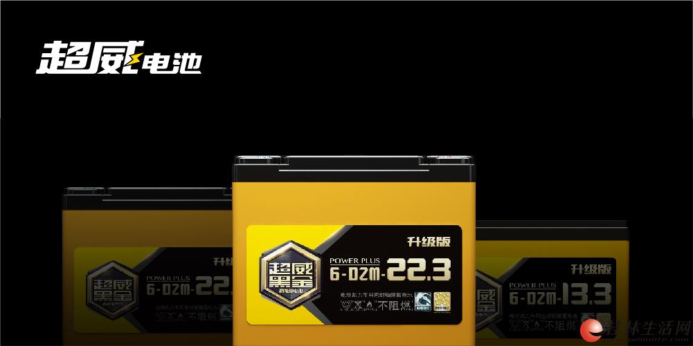 桂林超威专卖店卖的超威黑金电池原来是这样的电池