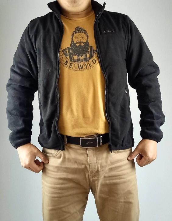 全新正品迪卡侬quechua男款全拉链户外抓绒衣卫衣防风