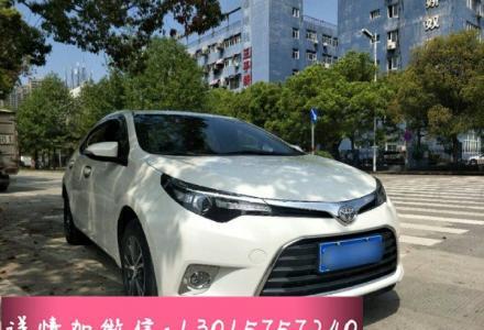 丰田 雷凌 2016款 1.6G CVT精英版