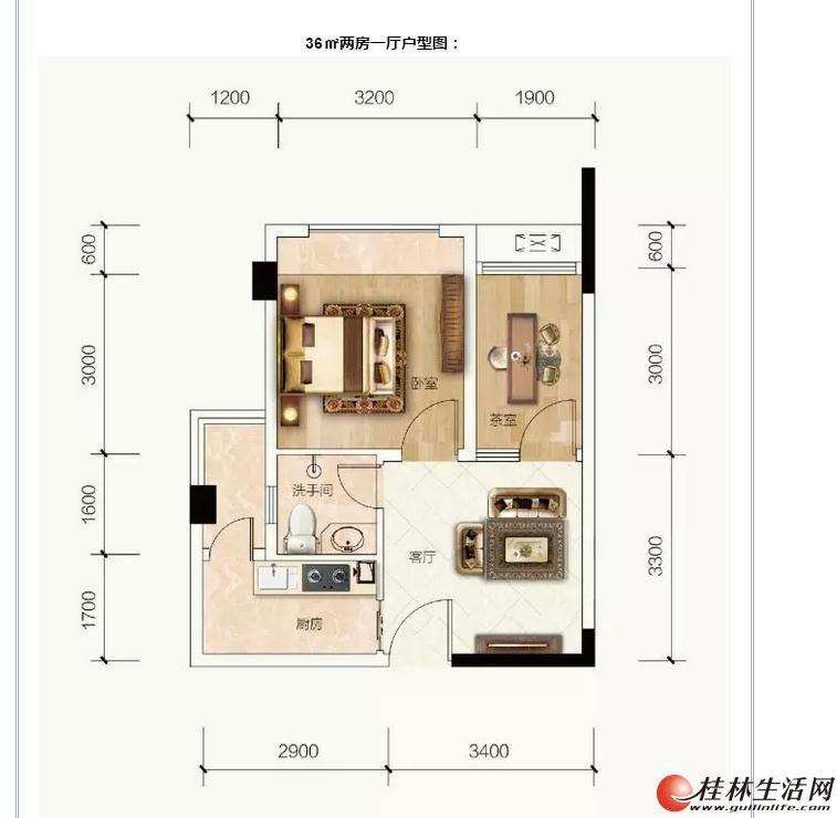 ZZ七星区 万达商圈 团购价【信昌棠棣之华】  2房 仅售30万