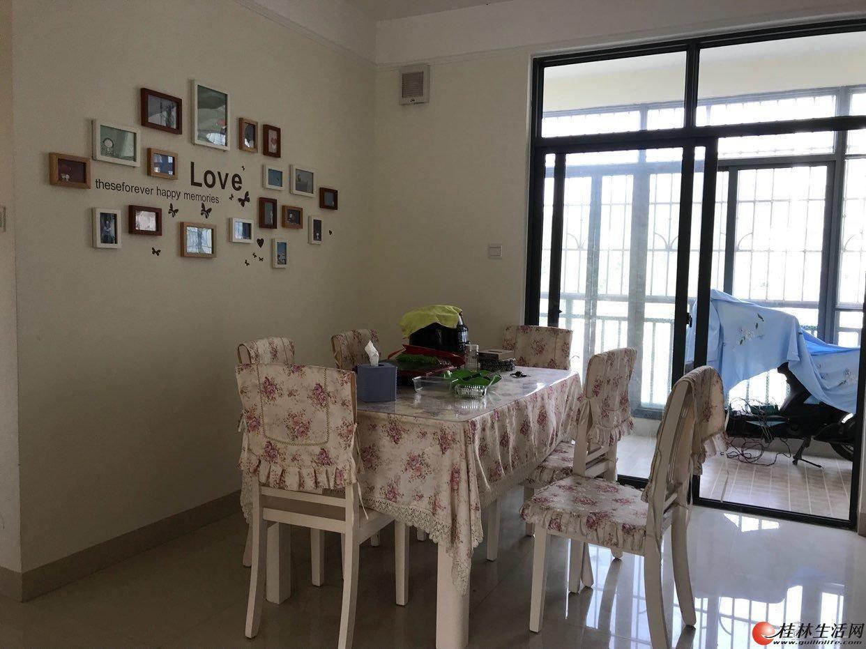 桂林临桂长岛16区129平精装带车位送露台 3室2厅2卫房东急售