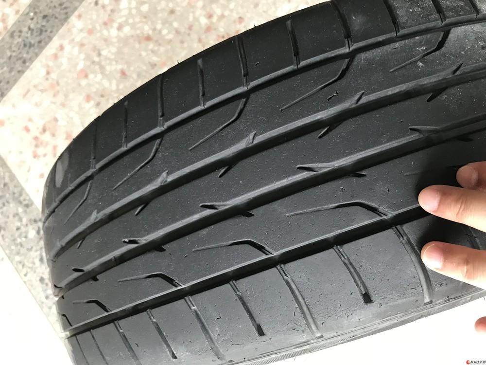 出自用4条5*114.3/18寸改装钢圈带轮胎