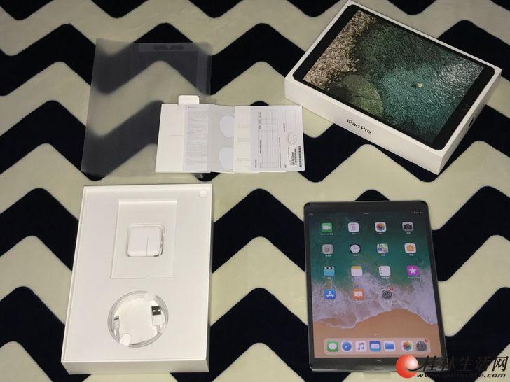国行iPad Pro10.5寸 深空灰64G刚激活全套充新