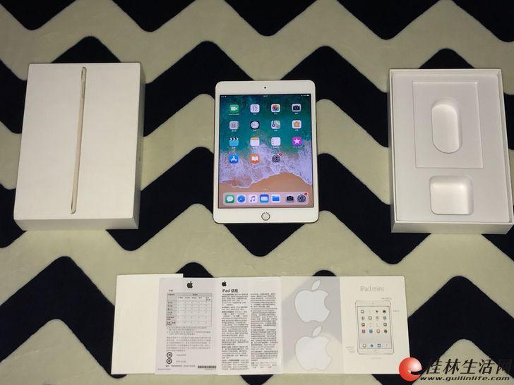 iPadmini4 国行金色128G 保修到今年9月9号
