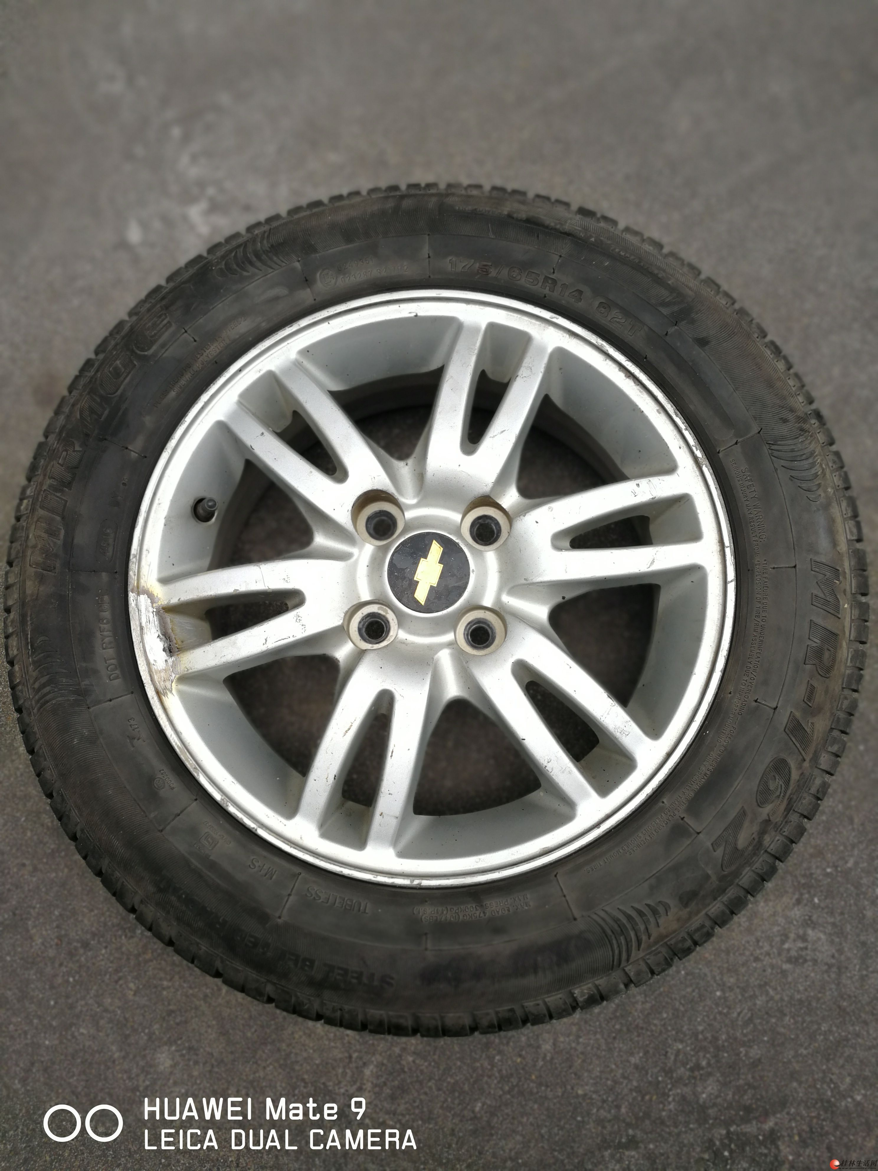 出准新米乐奇175/65R14轮胎一条