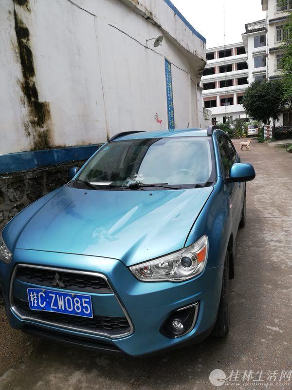 个人自用的三菱劲炫SUV出售啦!