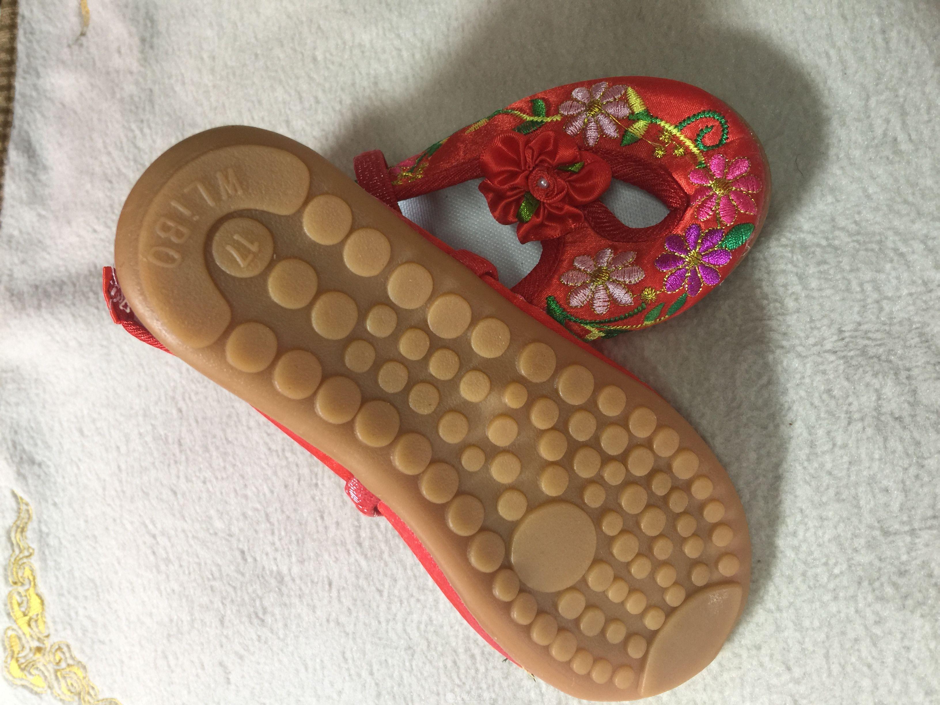 出售民族风儿童、少年鞋,牛筋底防滑耐磨35元/双