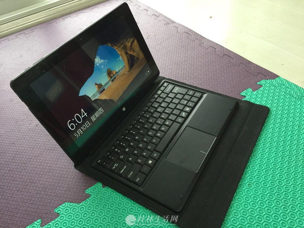 中柏10.6英寸平板电脑带键盘,95成新低价不到5折转让,只要500